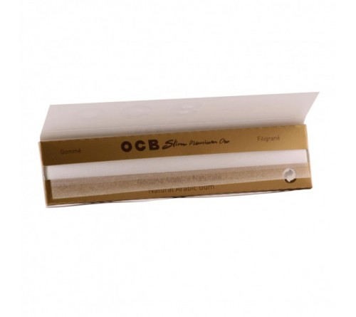 OCB Slim Premium Oro Gold Smoking Paper
